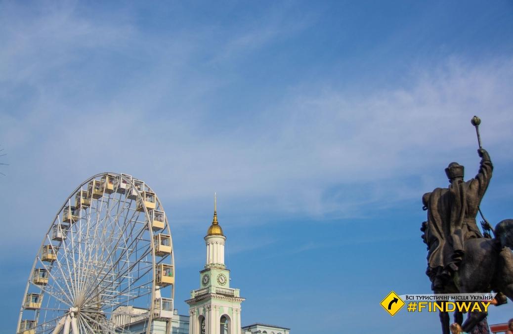 Kontraktova square, Kiev