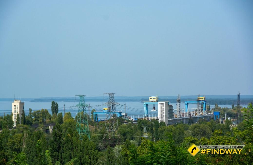 Парк Славы, Днепровская гора, Канев