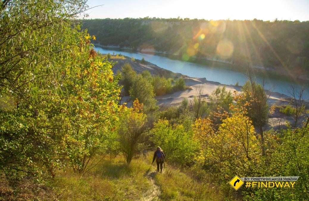 Abandoned Morozovsky coal quarry, Pantanyivka