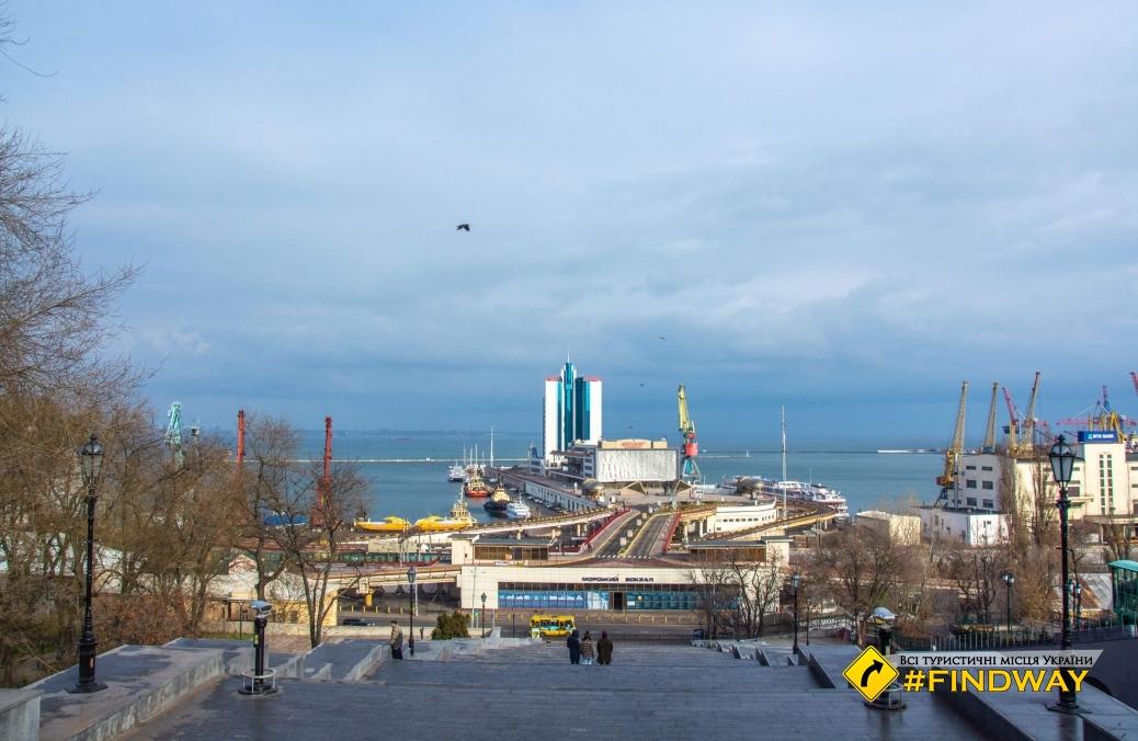 Потьомкінські сходи, приморський бульвар, Одеса