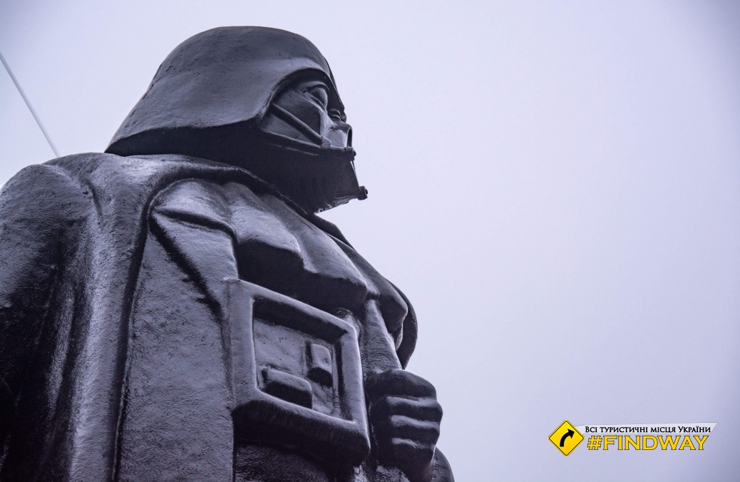 Monument to Darth Vader, Odesa
