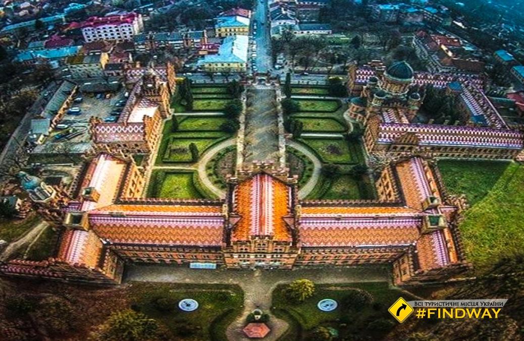 Черновицкий университет Федьковича, Черновцы