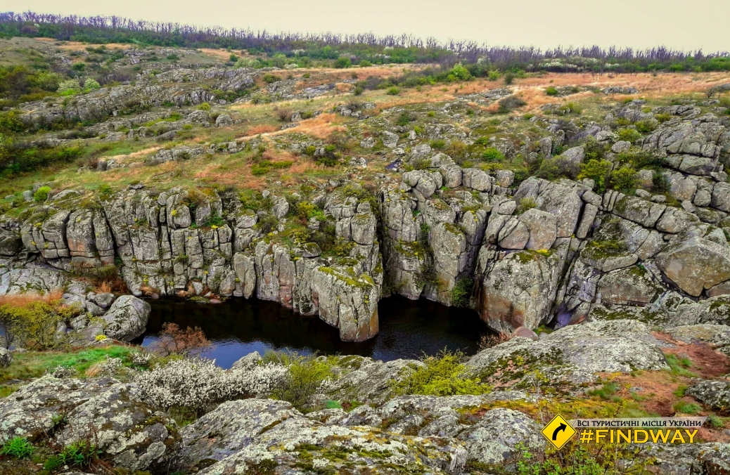 Aktovskyy Canyon, Voznesensk