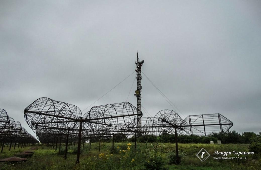 Антени РадіоТелескопу «УРАН-1» (Українські РадіоІнтерферометри Академії Наук)