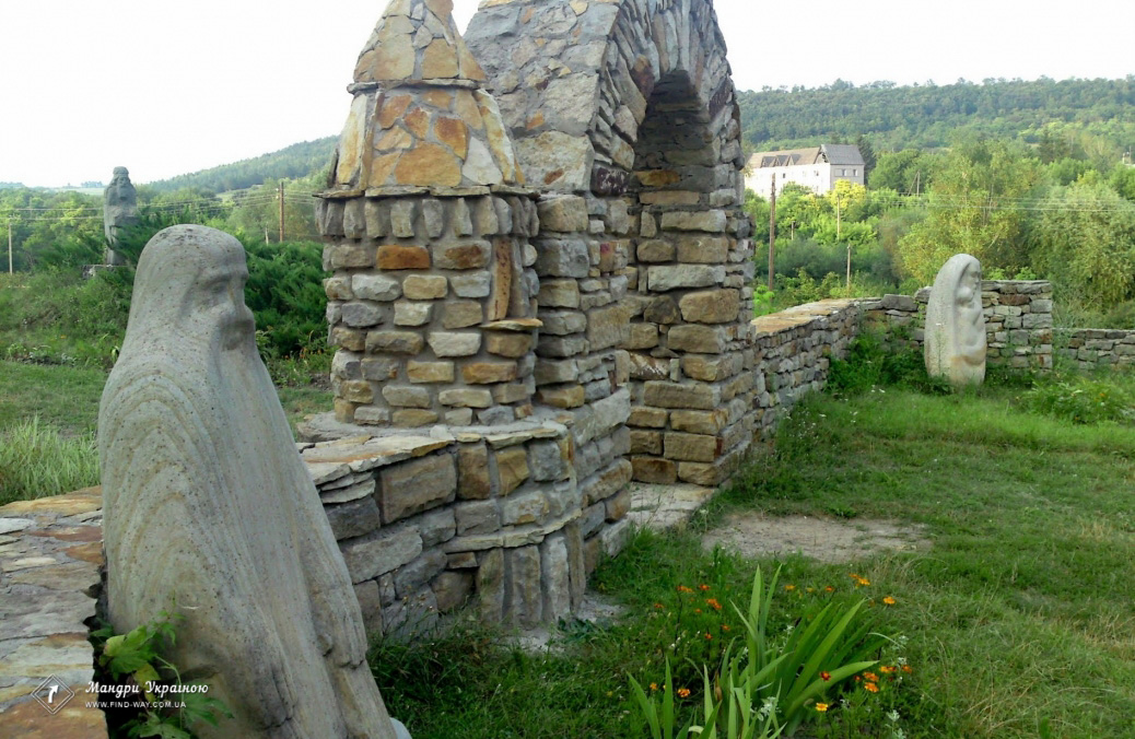 Historical and Cultural Reserve Busha (Sculpture Park and the remains of the fortress)