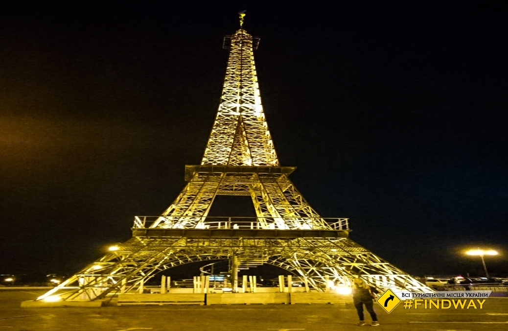 "Eiffel Tower, Kharkiv (Mall ""French Boulevard"")"