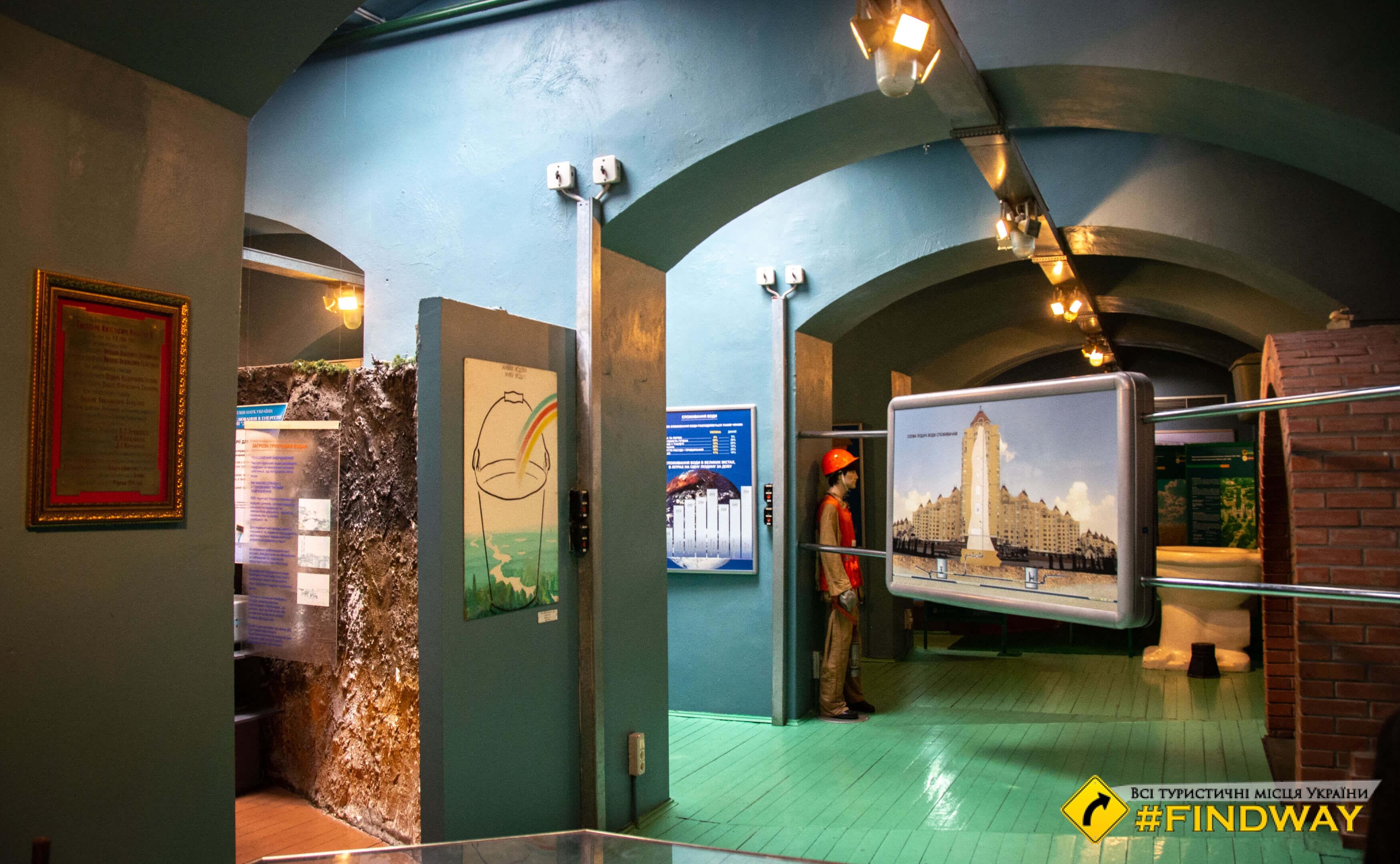 Музей воды (Водно-информационный центр), Киев
