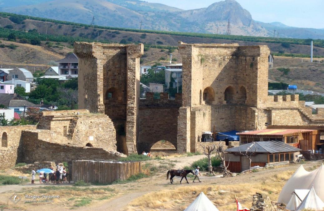 Genoese fortress, Sudak