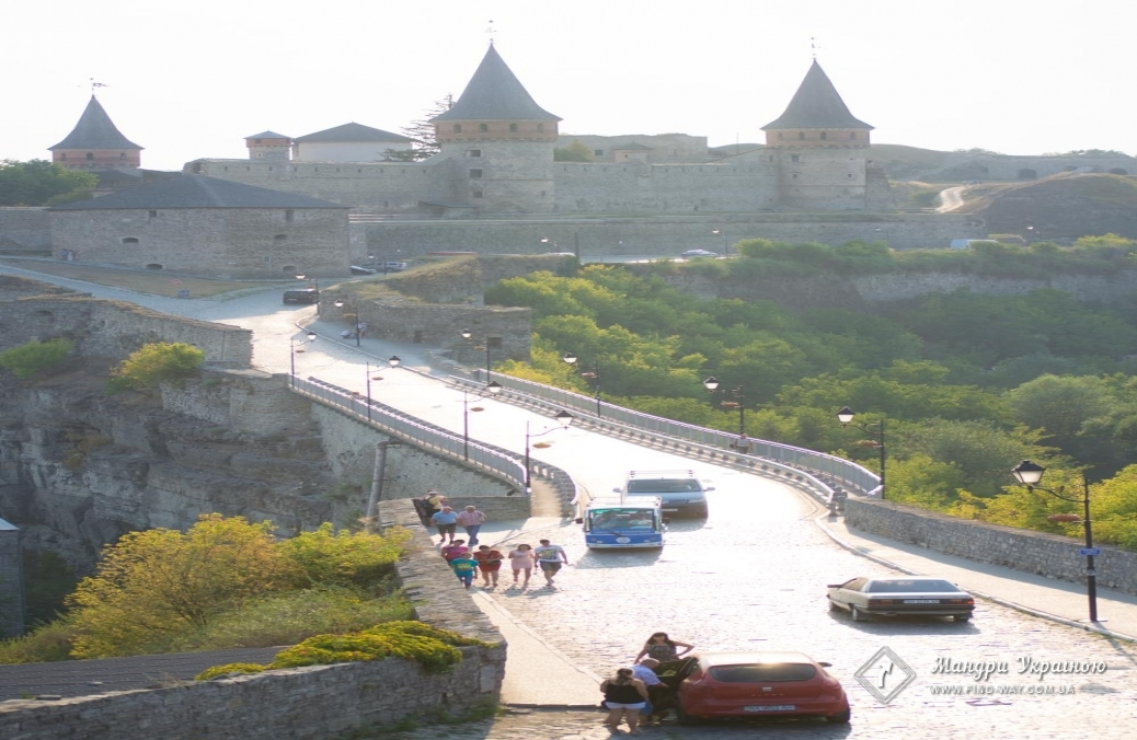Kamianets-Podilskyi castle (fortress, old castle)