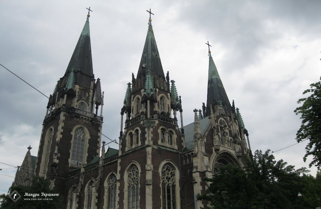Church of St. Olga and Elizabeth, Lviv