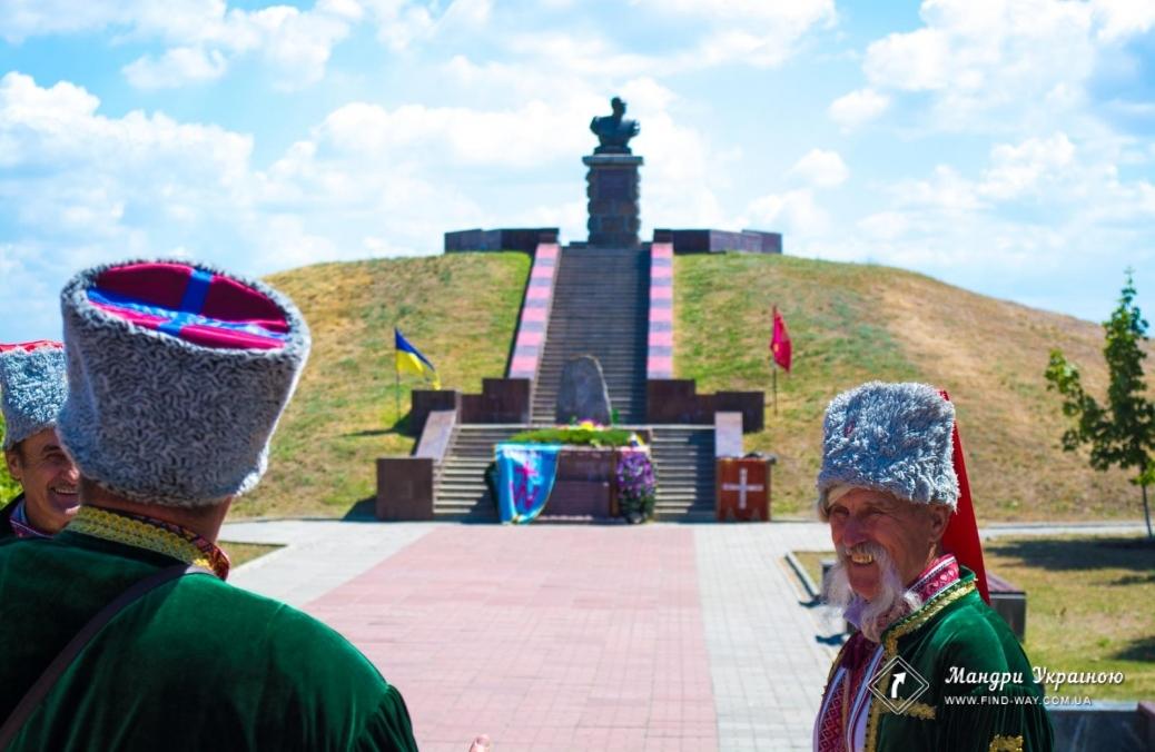 The grave of the invincible otaman Ivan Sirko (Kapulivka, Nikopol)