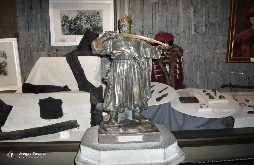 Музей истории запорожского казачес, о.Хортица