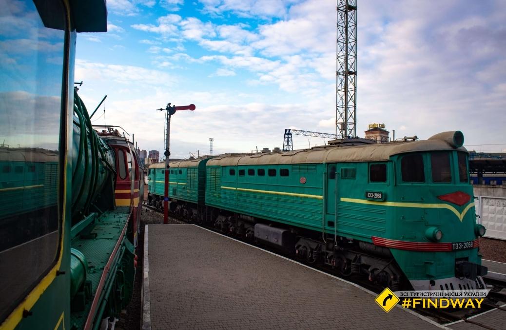 Museum of Railway Transport (Exhibition of Historic Locomotives), Kyiv-Passenger