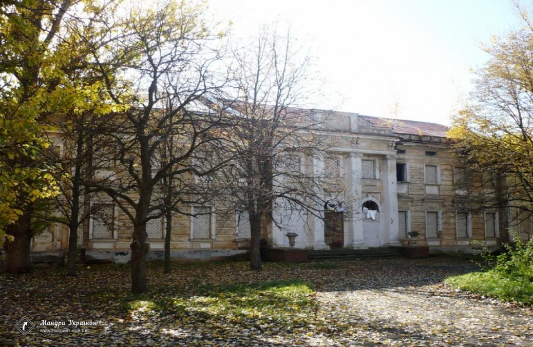 палацово-парковий комплекс, маєток шидловських, старий мерчик Цікаві місця України харківська область