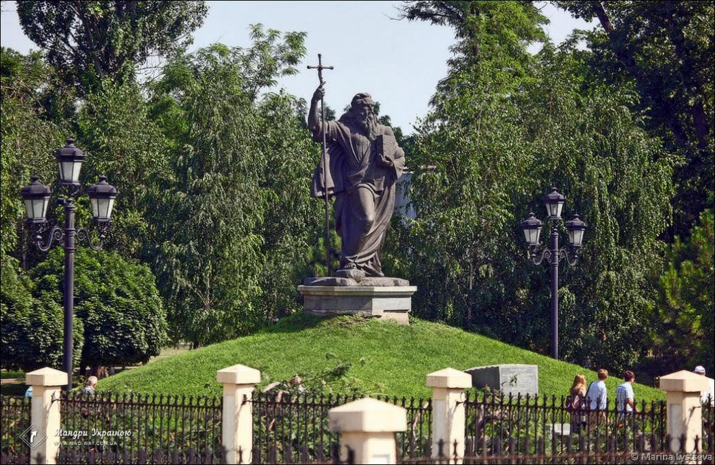 Andrew Pervozvannyj Monument