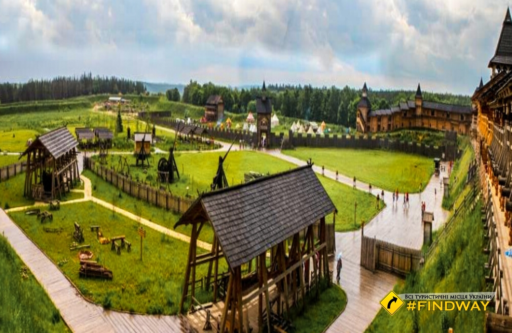 "Park ""Kievan Rus"", Vasilkiv"