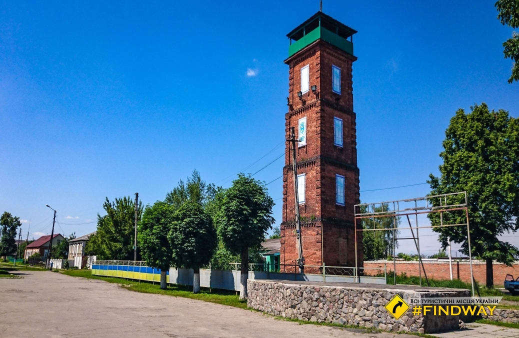 Fire tower, Slobozhanska Square, Zolochiv