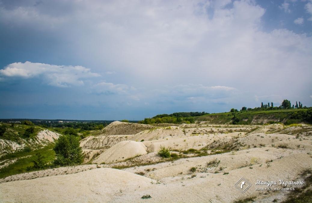 Заброшенный меловой карьер, Купянск