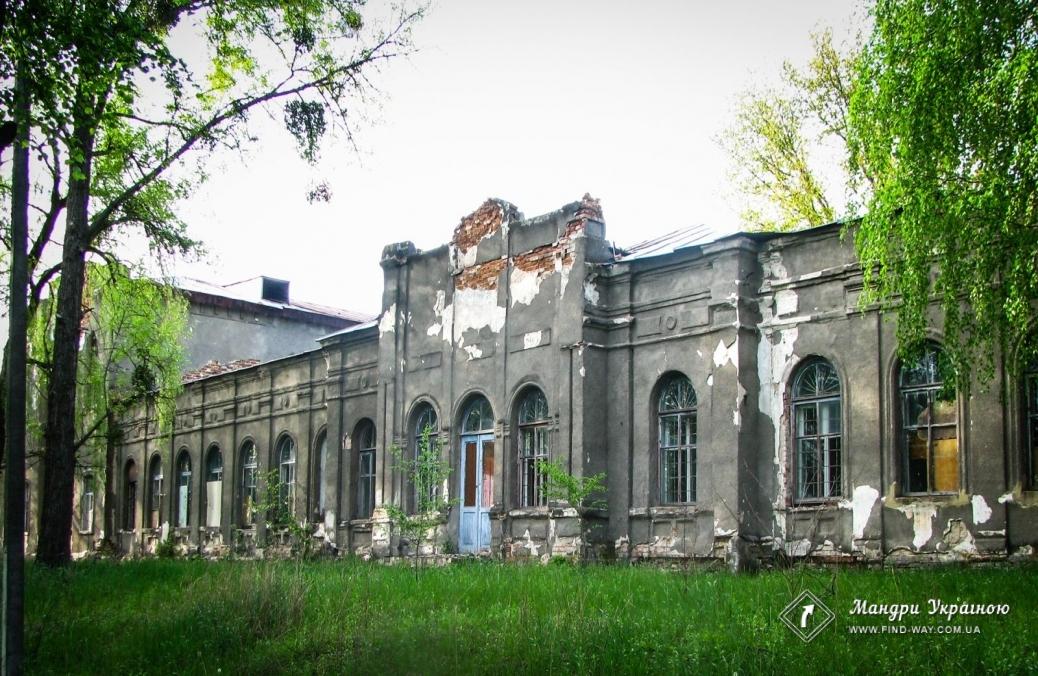 Manor of Svyatopolk-Myrskoho, Hyevka (Lyubotin)