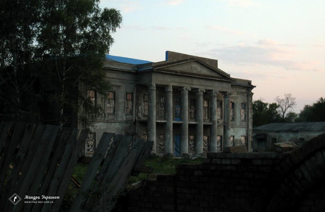 Sharinskoho-Shakhmatova Manor (K. Yuzbashev manor house), Oleksandrivsk