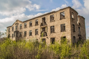 Abandoned town Stepove (Otvod), Kryvyi Rih