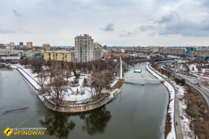 """Сквер """"Стрілка"""" та набережна, Харків"""