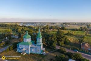Хрестовоздвиженська церква, Старий Солотвин