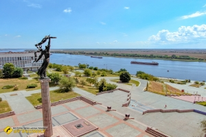 Park of Glory and riverside, Kherson