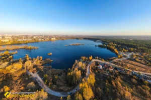 Lake Osnova (Komsomolske lake), Kharkiv