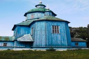 Троицкая церковь, село Степановка, город Мена