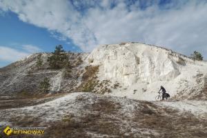 Меловые горы Двуречанского национального парка