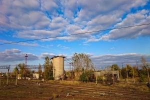 Abandoned Railway Buildings, Kharkiv