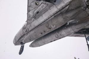 Винищувач-бомбардувальник СУ-7БМ, пам'ятник льотчикам-визволителям, Красноград