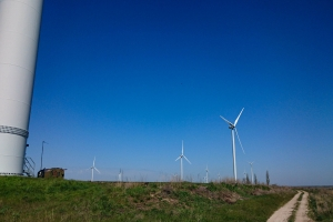 Ochakiv wind power plant (Windmill park Ochakivsky), Dmitrovka