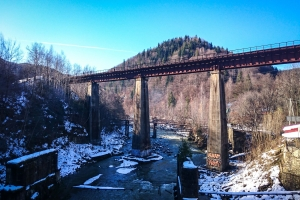 Old railway bridge, Yaremche