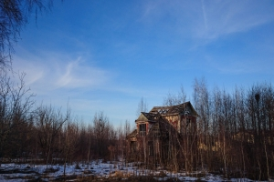 The street of abandoned pioneer camps, Pokotylivka