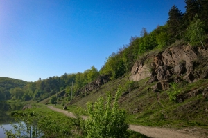 Sabarivska rock and ancient settlement, Vinnitsa
