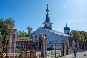 St. George's Tower and Iberian Icon of God's Mother Church, Kryvyi Rih