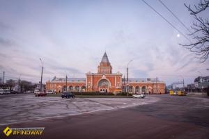 Железнодорожный вокзал, Чернигов
