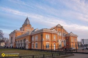 Railway station, Chernihiv