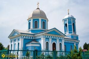 Успенская церковь, Новая Збурьевка