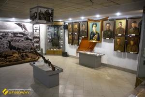 Museum «Kharkiv in World War II», Marshal Konev height