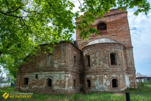Abandoned Elijah's Church-Fortress (~1650), Korop
