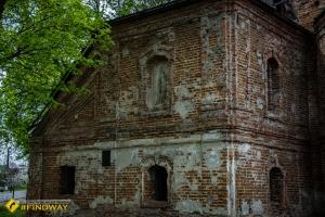 Abandoned Elijah's Church-Fortress (~1650), Korop