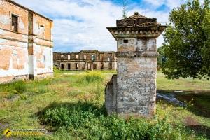 Залишки садиби Трубецького, Козацьке