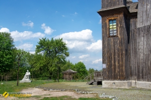 Георгіївська церква де знімали фільм «Вій» (1747р), Седнів