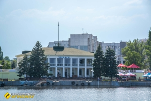 River station, Cherkasy