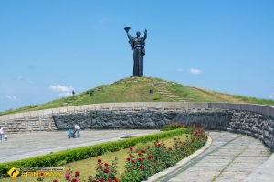 Monument to Motherland, Glory Hill, Cherkasy
