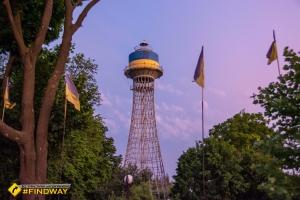 Shukhov hyperboloid tower, Cherkasy