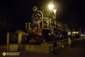 Locomotive monument of Shevchenko station, Smila